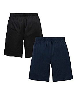 Capsule Pack of Two Polyester Mesh Shorts