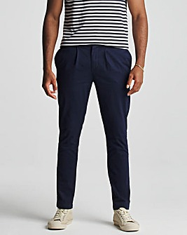 Pleat Front Chino