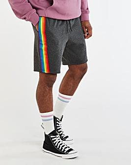Pride Taped Fleece Short