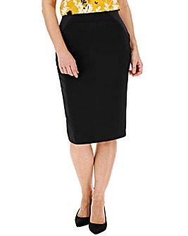 Shape & Sculpt Ponte Pencil Skirt