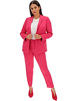 Pink Statement Tapered Trousers