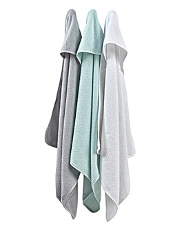 East Coast 3 Pack Hooded Robes