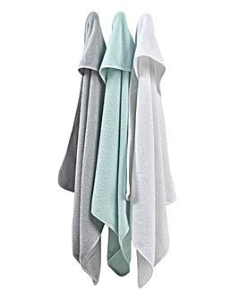 East Coast 3 Pack Hooded Robes