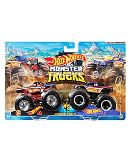 Hot Wheels Monster Truck 1:64 scale 2 Pack Assortment