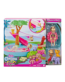 Barbie Dreamhouse Adventures Chelsea Jungle River Playset