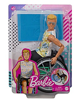 Ken Fashionista with Wheelchair Accessory & Ramp
