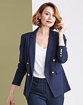Premium Stretch Navy Trophy Blazer