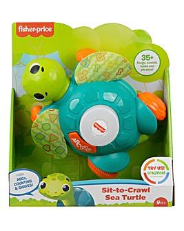 Fisher-Price Sit-to-Crawl Sea Turtle