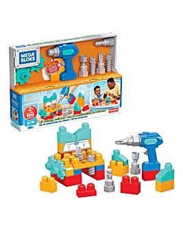 Mega Bloks Lil' Building Drill Set