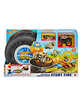 Hot Wheels Monster Trucks Stunt Playset
