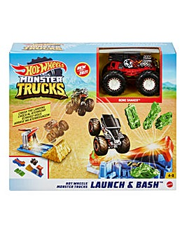 Hot Wheels Monster Trucks Launch & Bash