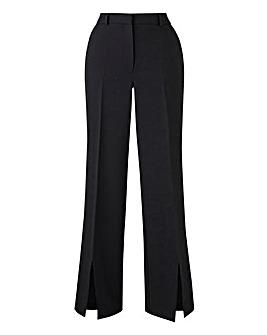 Wide Leg Trousers with Split Hems