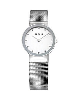 Bering Ladies SS Mesh Bracelet Watch