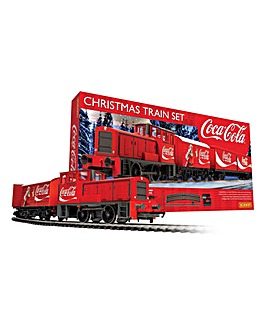 Hornby Coca-Cola Christmas Train Set