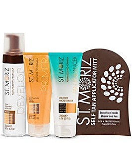 St Moriz Medium Tan Kit