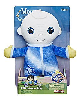 Moon and Me Plush Moon Baby