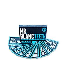 Mr Blanc Teeth Whitening Strips 2 Week Supply