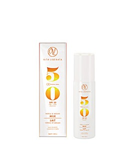 Vita Liberata Neroli and Argan Milk SP50