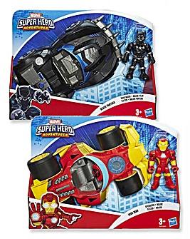 Marvel Avengers Figure and Vehicle Asst