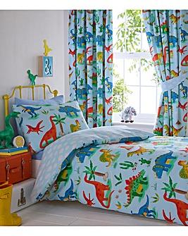 Dinosaurs Single Duvet Cover Set