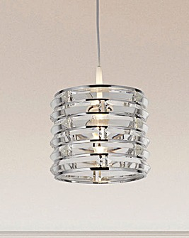 Curved Glass Pendant Shade