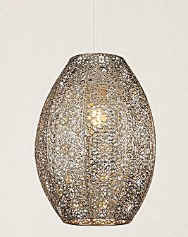 Moroccan Fretwork Pendant Shade