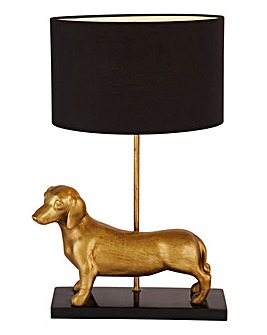 Sausage Dog Table Lamp