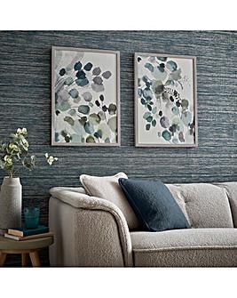Sage Sprigs Framed Wall Art