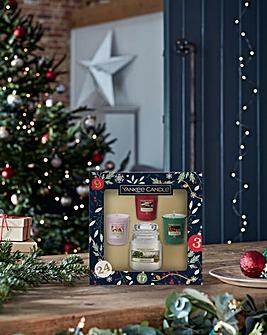 Yankee Candle Small Jar 3 Votive Gift Set