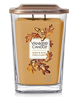 Yankee Candle Elevation Large Amber & Acorn