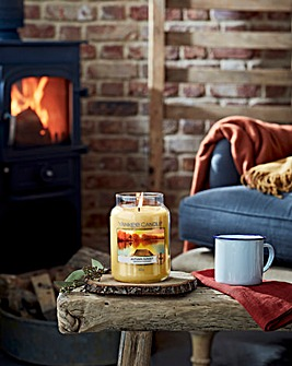 Yankee Candle Autumn Sunset Large Jar