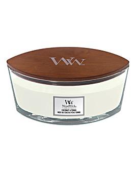 Woodwick Ellipse Coconut & Tonka Candle