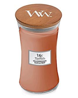 Woodwick Chilli Pepper Gelato Large Jar