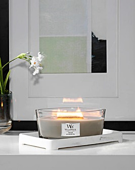 Woodwick Fireside Ellipse Candle