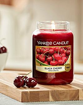 Yankee Candle Black Cherry Large Jar