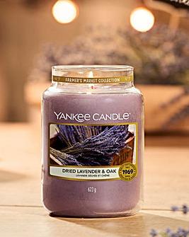 Yankee Candle Dried Lavender & Oak Jar