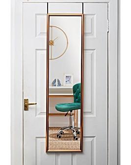 Over Door Copper Mirror