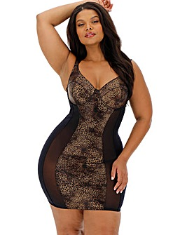 Figleaves Curve Temptation Leather Animal Control Slip