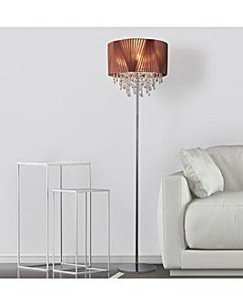 Venetian Blush Pink Floor Lamp