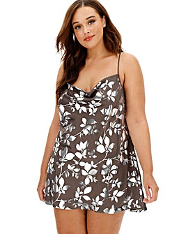 Figleaves Curve Foil Print Chemise