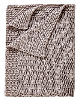 clair De Lune Knitted Blanket