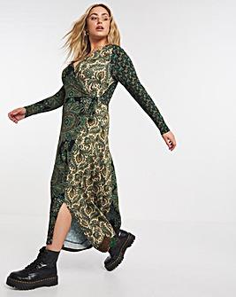 Joe Browns Mixed Print Jersey Wrap Dress