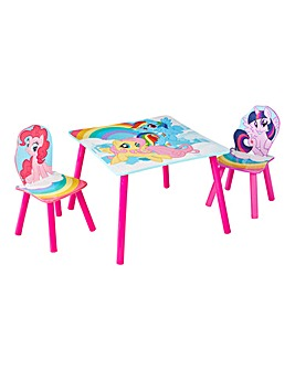 My Little Pony Table & Chairs