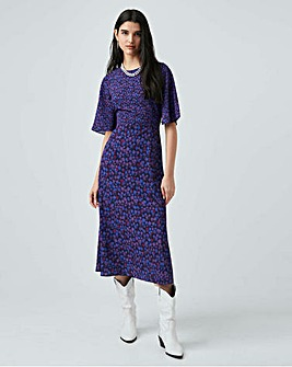 French Connection Bethany Crepe Midi Dress