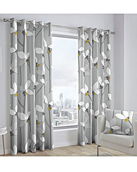 Fusion Kalmar Eyelet Curtains