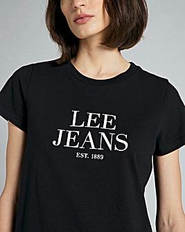 Lee Logo Graphic Tee