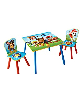 Paw Patrol Table & Chairs