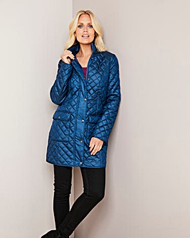 Julipa Midnight Longline Padded Jacket