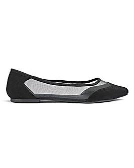 Cate Mesh Shoe Wide E Fit