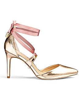 Aisha Wrap Tie Heels E Fit